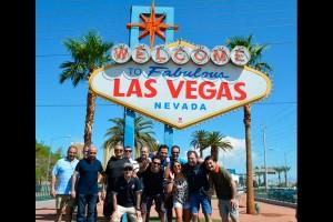 Delegacion Chrysler en Convención en las Vegas