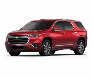 Chevrolet new traverse