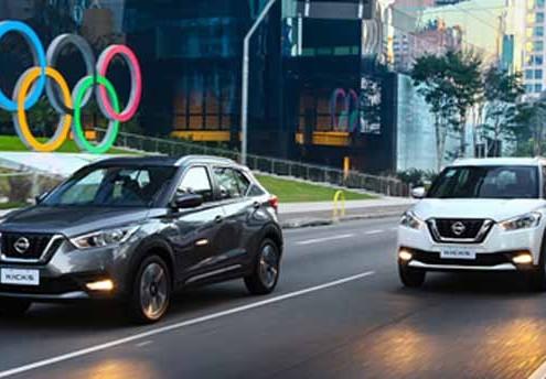 El nuevo crossover Nissan Kicks es el vehículo oficial de Río 2016.