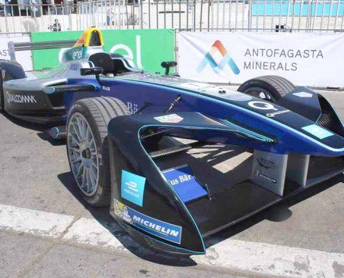modelo electrico Fórmula E