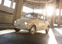 Fiat 500 condecoración