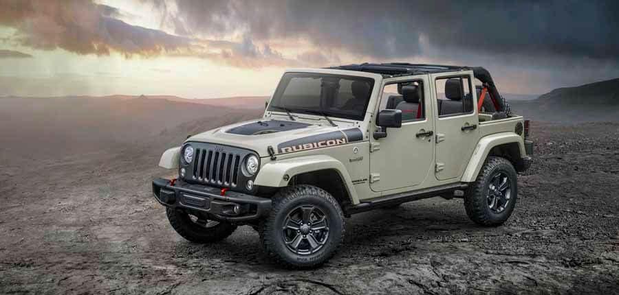 Jeep Wrangler carrocería