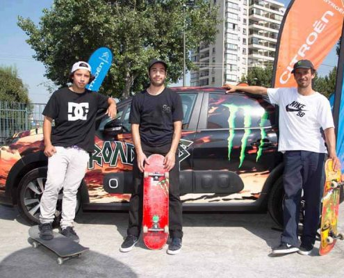 Jurado campeonato Skaters