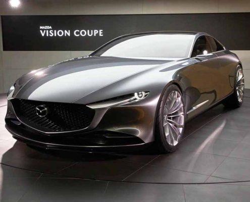 Mazda vision coupe parte trasera