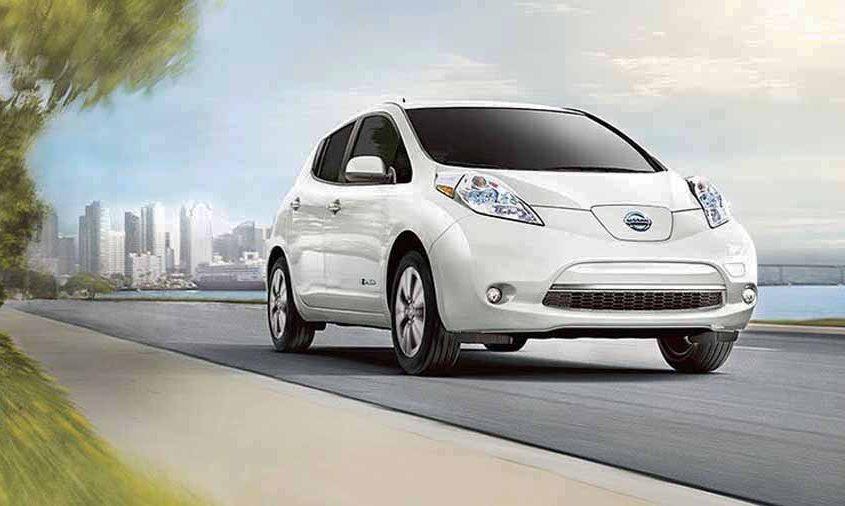 Nissan Leaf versión 2017