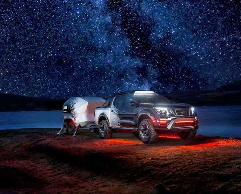Nissan observatorio móvil: Nissan Frontier Dark
