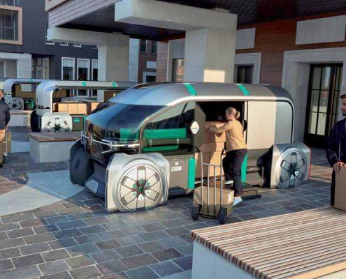 Renault EZ-PRO proceso de carga