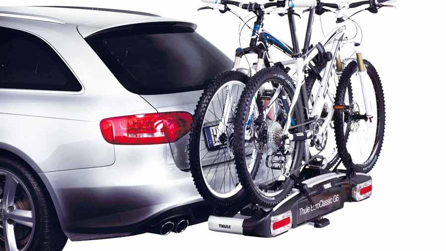 Porta bicicleta de arrastre