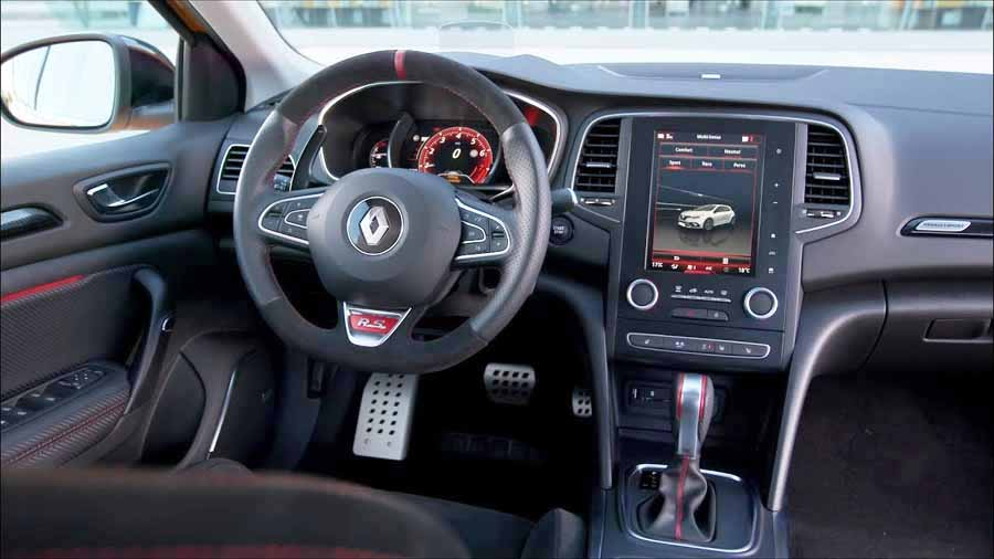 Interior Renault Mégane RS