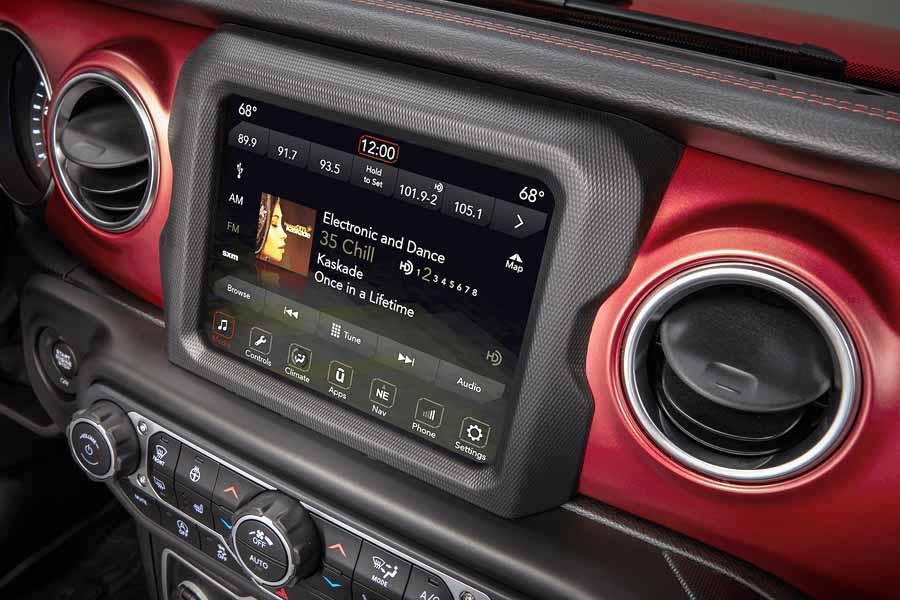 Nuevo Jeep Wrangler pantalla touch