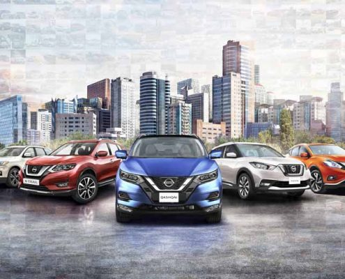Nissan 3 SUVs Top 10 de ventas