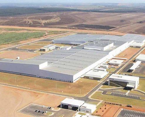 Frabrica Honda en Brasil