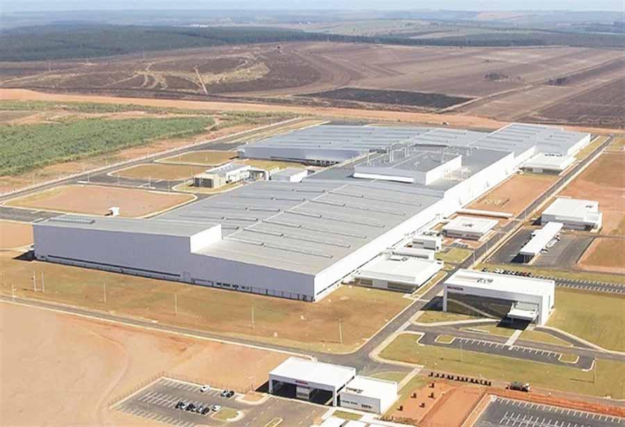 Fábrica Honda en Brasil