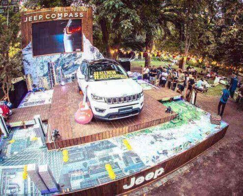 Jeep zone Lollapalooza