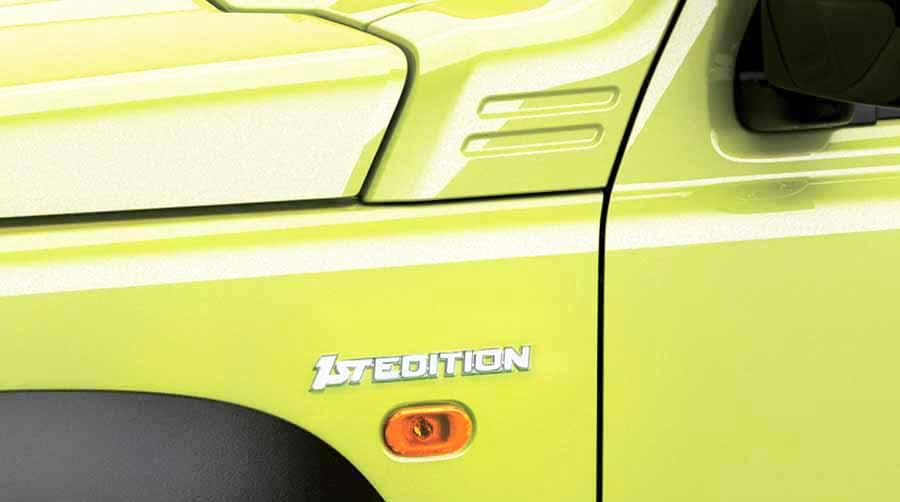 Placa Nuevo Suzuki Jimny