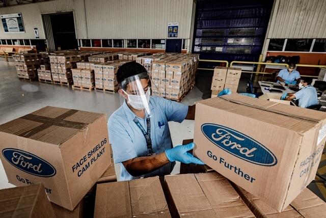 Ford Motor Company contribuye con más de un millón de dólares a la lucha contra el COVID-19